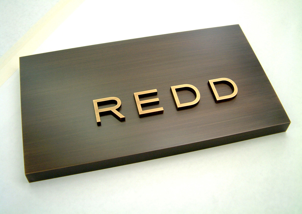 Erik Olsen Graphic Design // Redd Restaurant